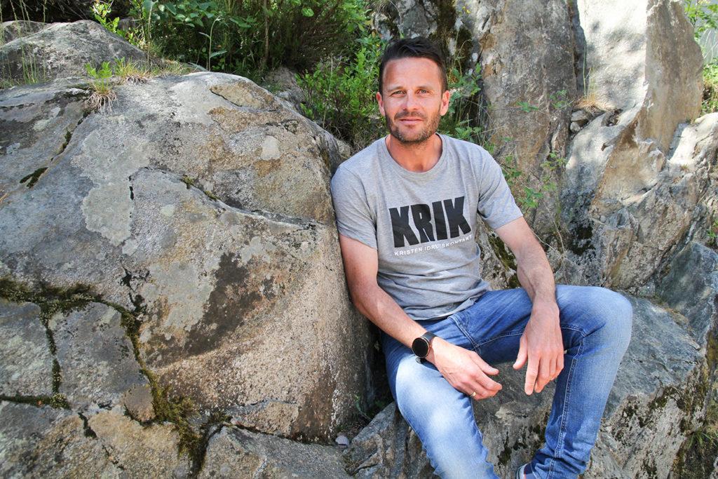 Vegard Husby er generalsekretær i Kristen Idrettskontakt, KRIK.